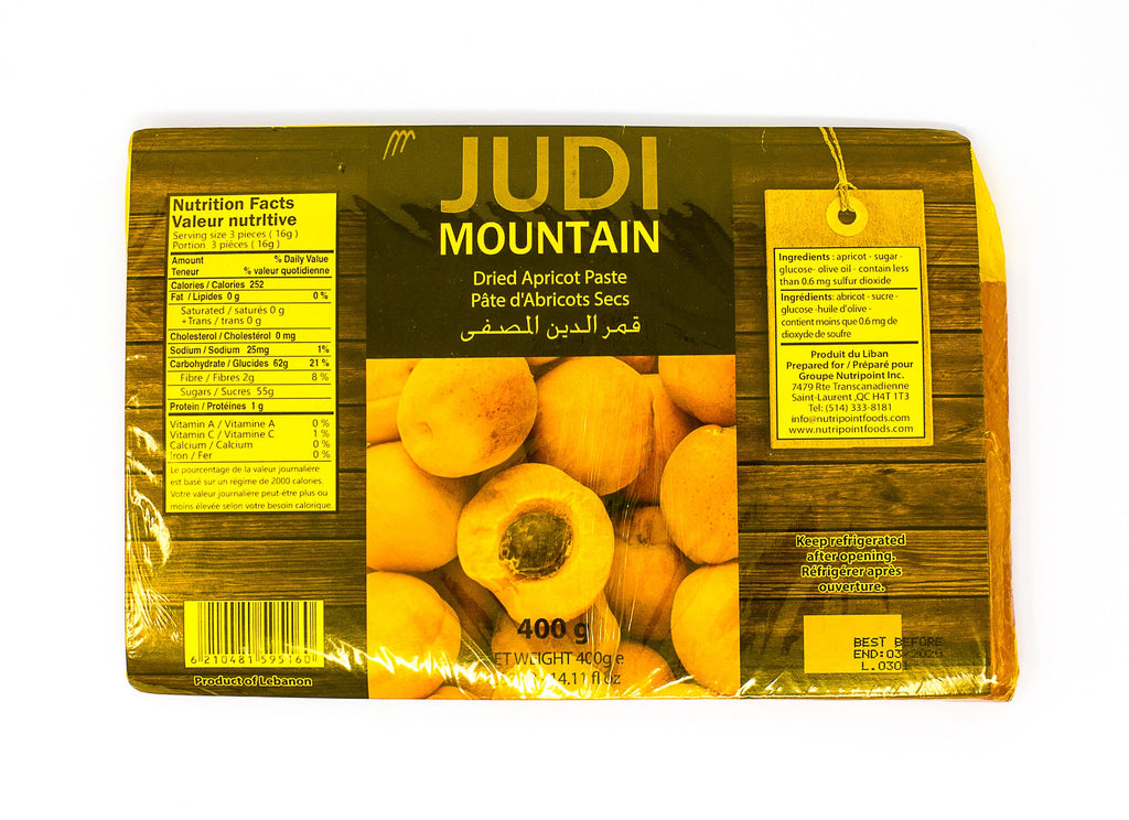 Judi Mountain Dried Apricot Paste (400 g) قمر الدين