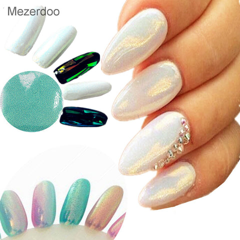 Mermaid Effect Glitter Nail Art Powder Dust