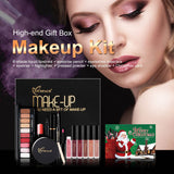 NEW Makeup Eye Shadow Lipstick Powder Mascara Combination Makeup Kit For all skin types