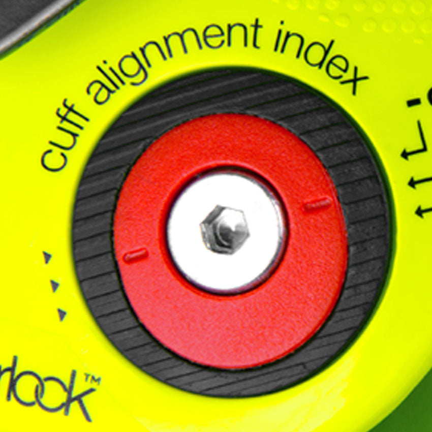 Cuff alignment index