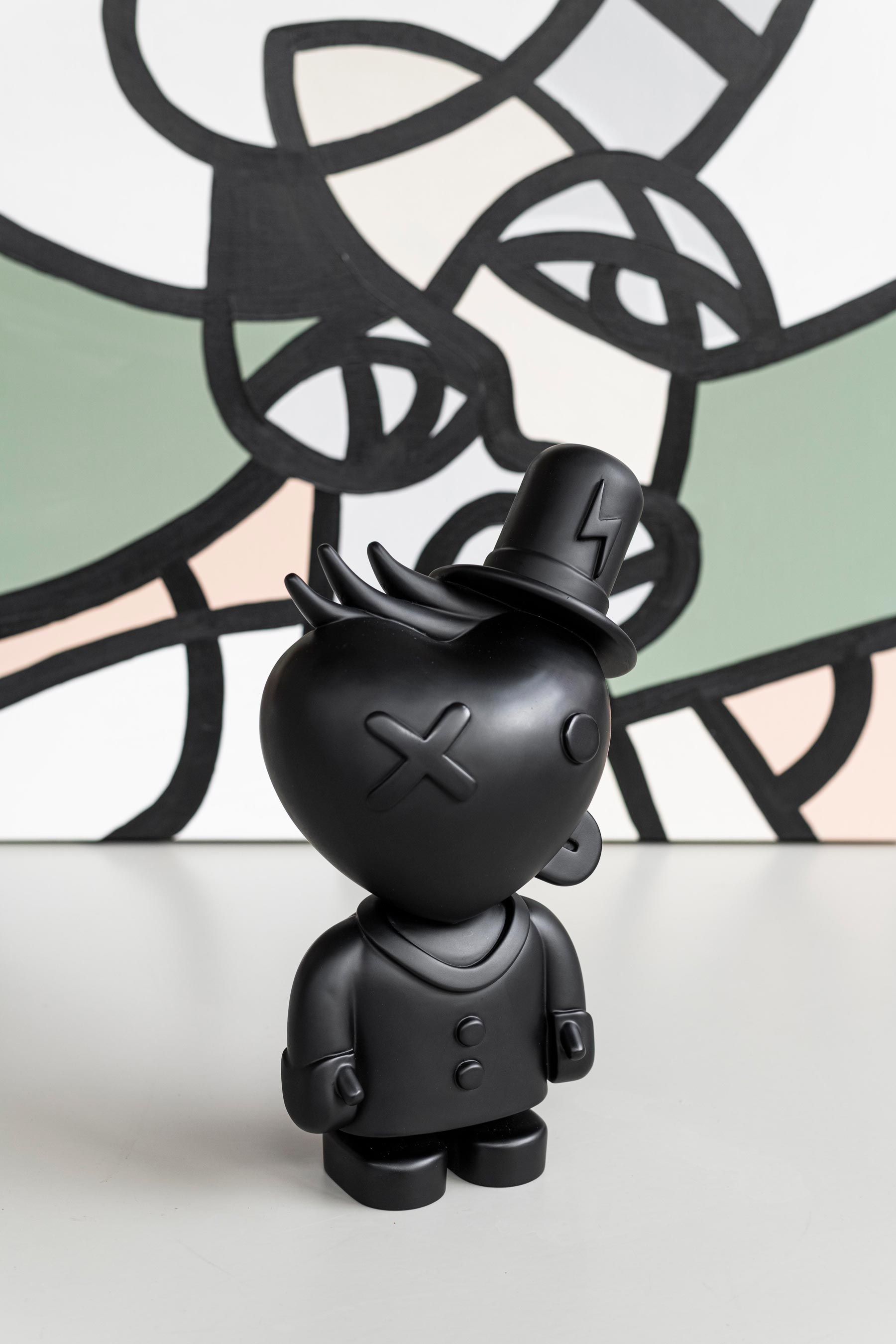 Mr. pablitto art toy by artist Pablo Lucker
