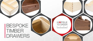 CNC IT NOW 6 - Bespoke Timber Drawers - Hand-made exactly how you like it!