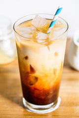 delicious iced latte recipe using cannonball coffee