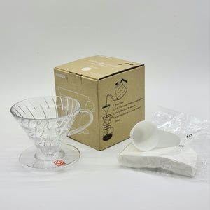 V60 Dripper Set (Clear)