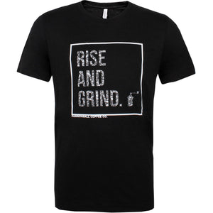 Cannonball Coffee Rise and Grind athletic fit t-shirt