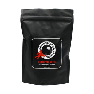 Cannonball Coffee smooth bore blend. Smooth, sweet and delicious.