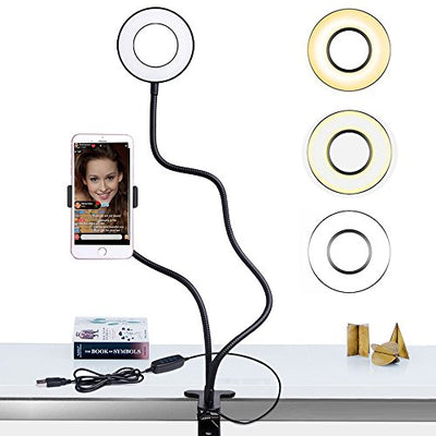 Ring Light with Cell Phone Holder Stand for Live Stream