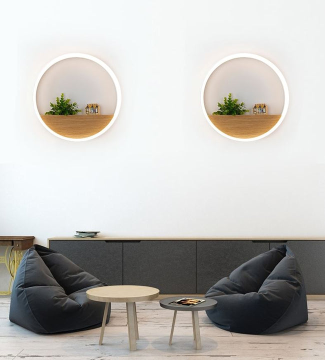 Circular LED Wall Lamp
