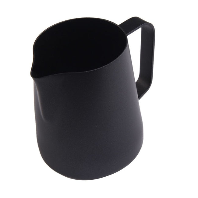 Matte Black Coated Milk Jug