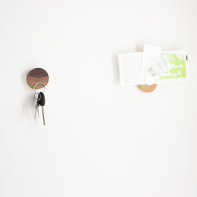 Solid Wood Magnetic Key Holder