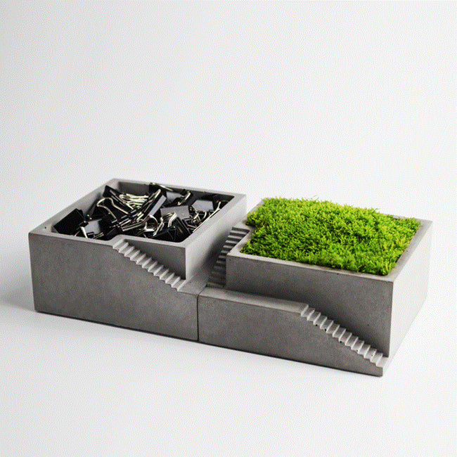 Mini Concrete Planter Box