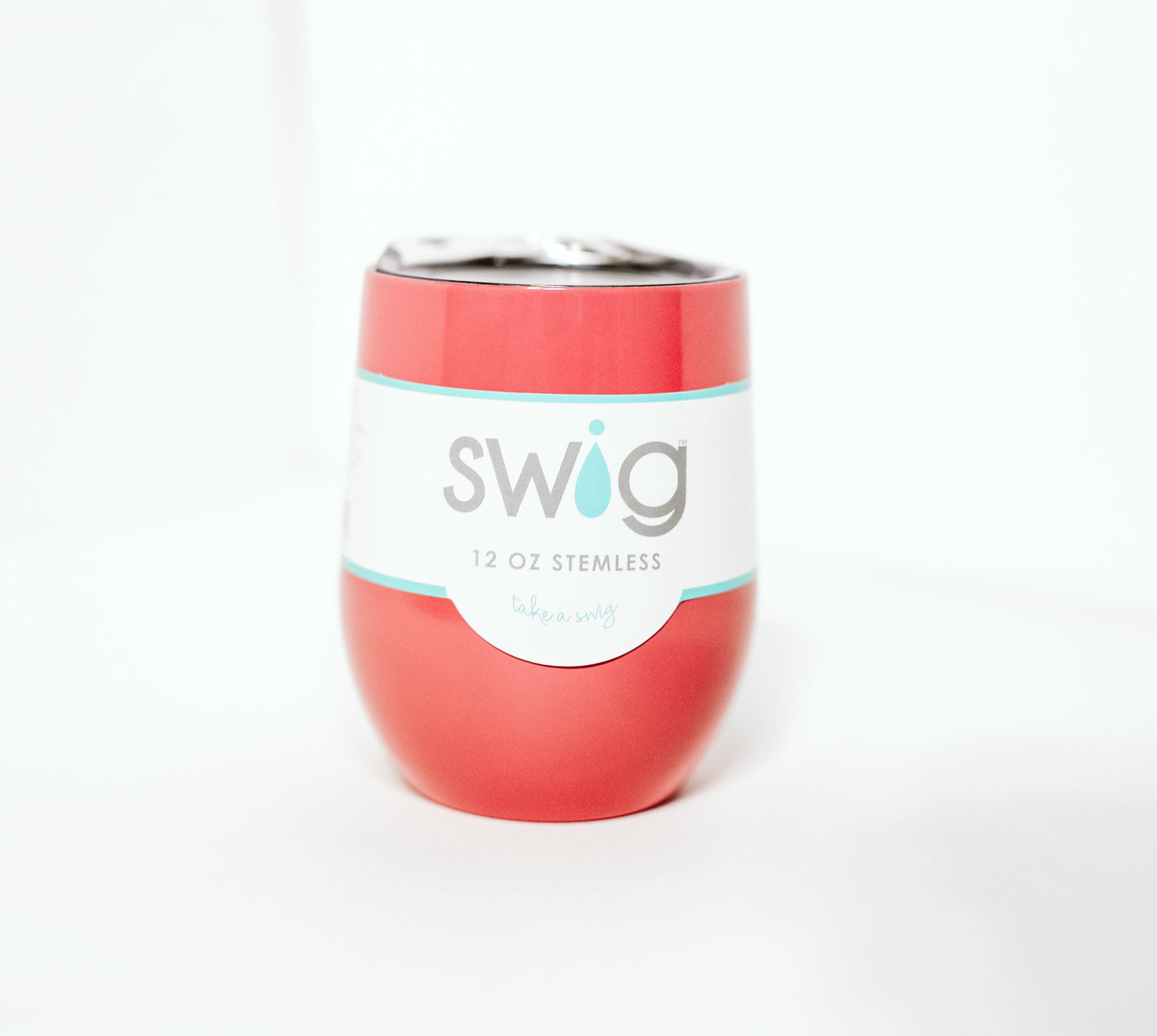 Swig Wine Cup - Coral