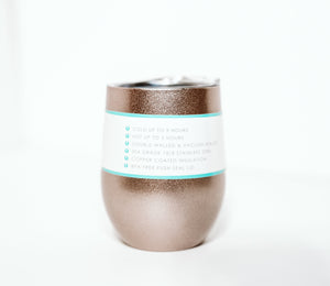 Swig Wine Cup - Rose Gold