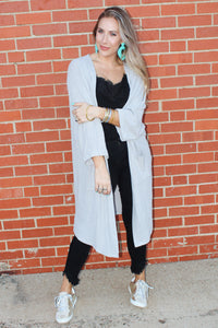 Daily Cardi (Heather Grey)