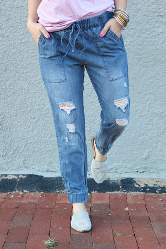 Denim Days Joggers