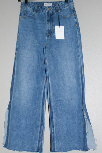 Wide Leg Denim Flares