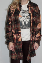 Fall Flannel (Lightly Distressed + Cross Detail)
