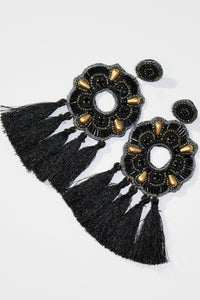 Earrings - Black