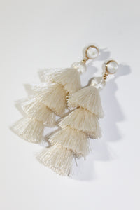 Earrings - Ivory
