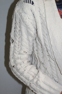 Cozy Chenille Cardigan (Ivory