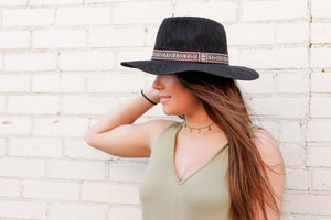 Summer Concert Hat - Black