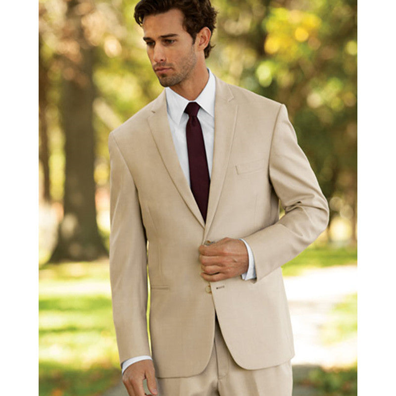 Custom Made Mens Suit 3 Piece Set Suit Male Casual Business Groom