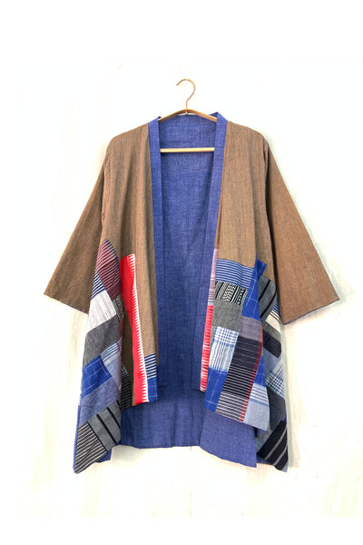 Boro reversible cape