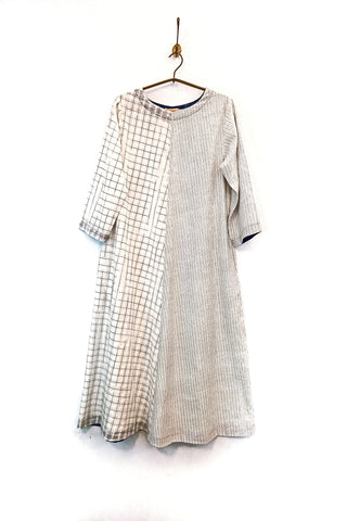 Handwoven textured dress