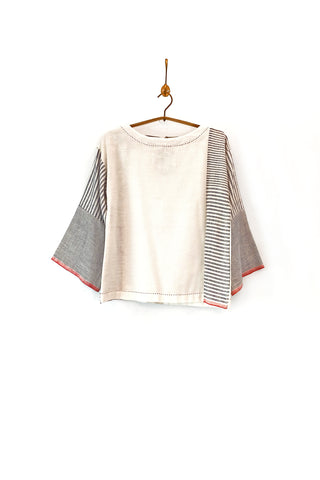 Linen blouse top