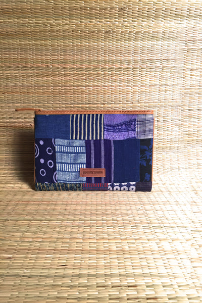 Indigo clutch (Medium)