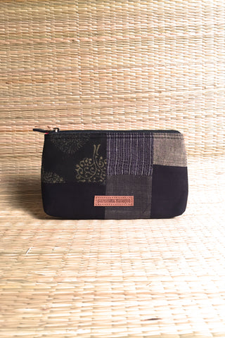 Charcoal clutch (small)
