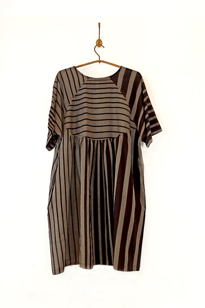 Striped Freedom dress from SS21