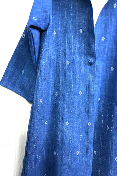 Kala cotton natural indigo jacket