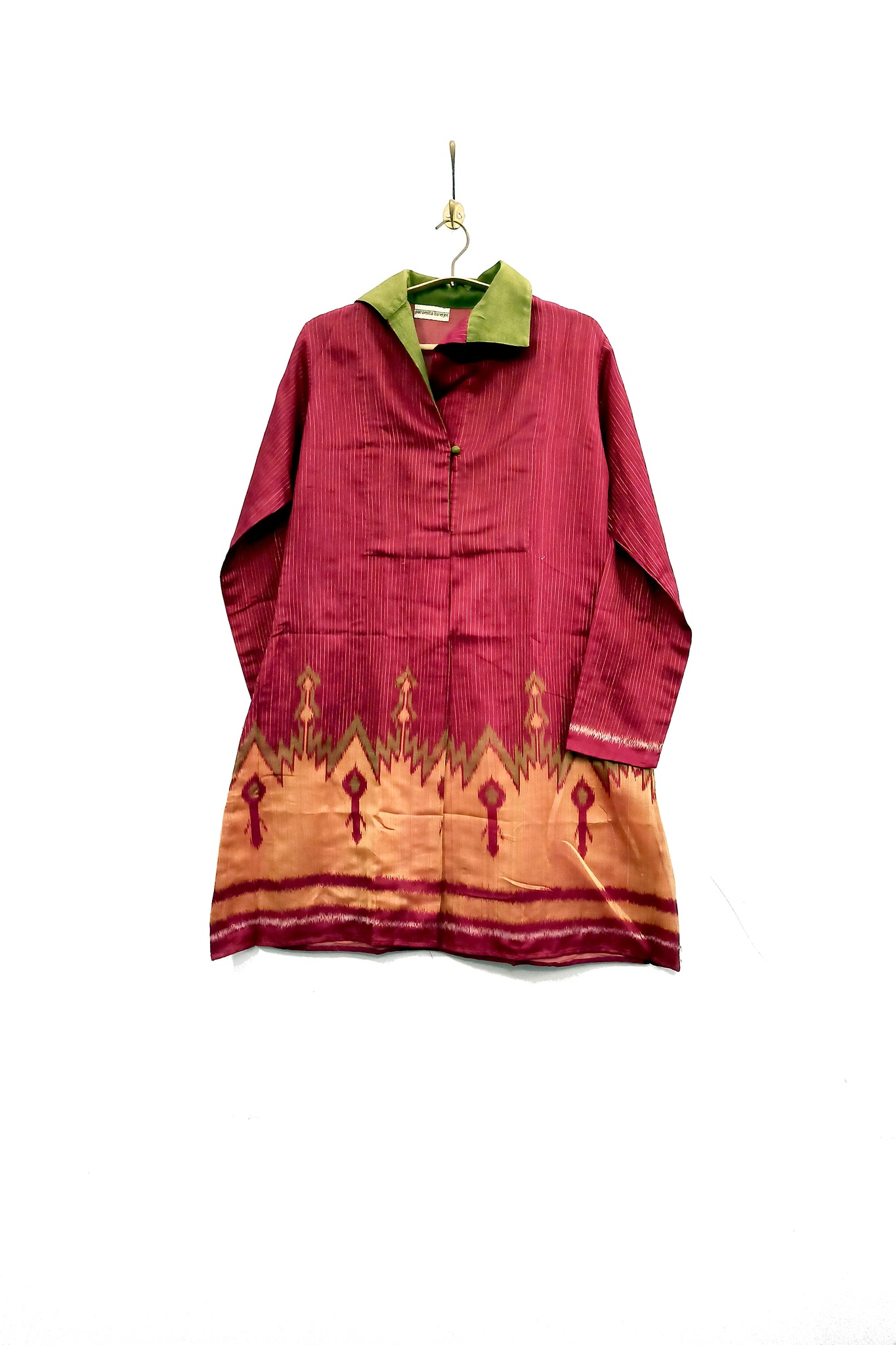 Chanderi Ikat tunic
