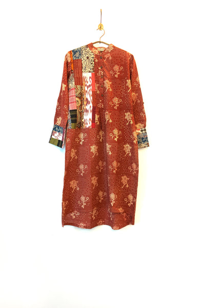 Upcycle kurta in print