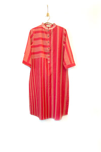 Handwoven striped kurta