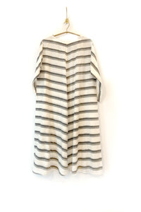 Khadi striped dress