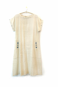 Organic Shift dress with pockets