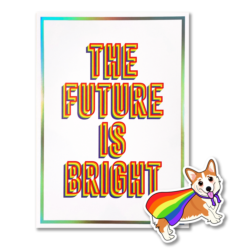 Pride Pack - Art Print and Sticker