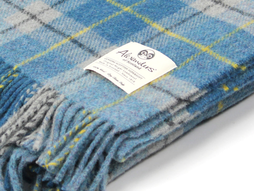 Traditional Weight Woollen Blanket - City Plaid