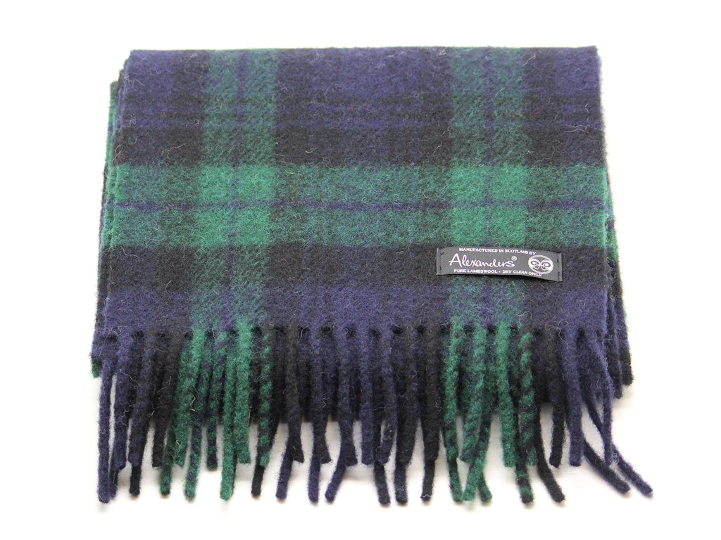 Cosy Blanket Scarf - Black Watch Tartan
