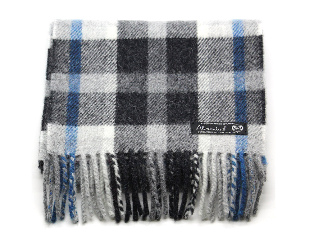 Cosy Blanket Scarf - Blue Charcoal