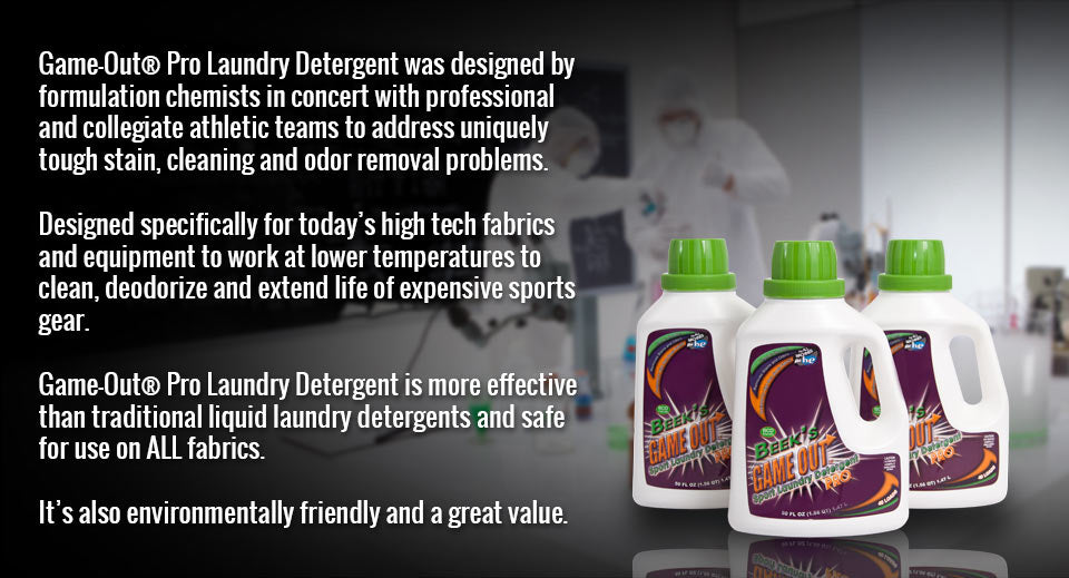 Sports Laundry Detergent Science
