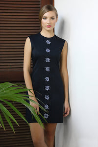 Alejandra Embroidered Dress