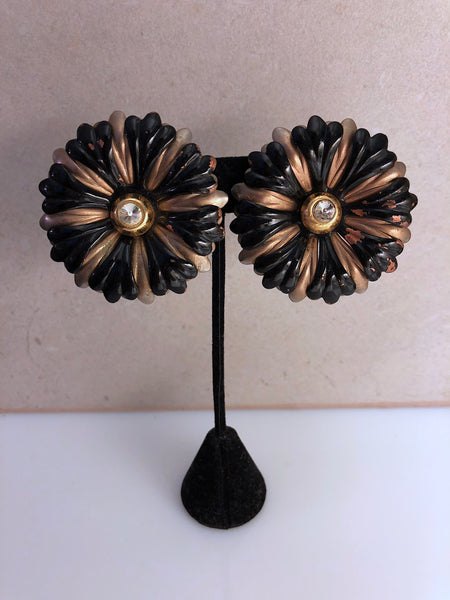 Vintage Charlie floral earrings