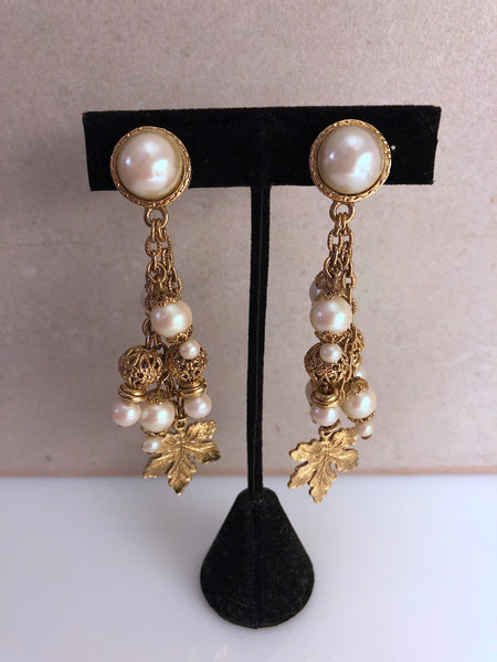 Vintage Victoria earrings