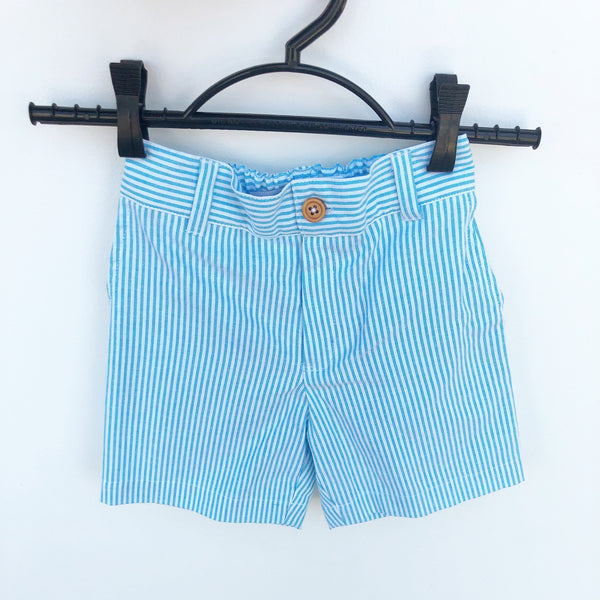 Santiago striped shorts