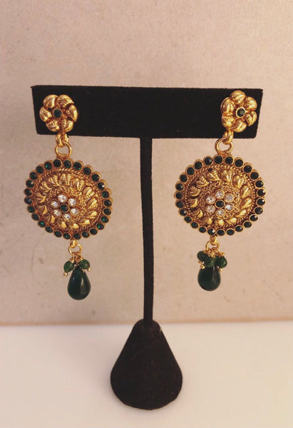The Emerald Queen earring