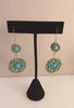 The Heart of Turquoise earring