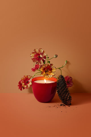 Smoky Tea Candle